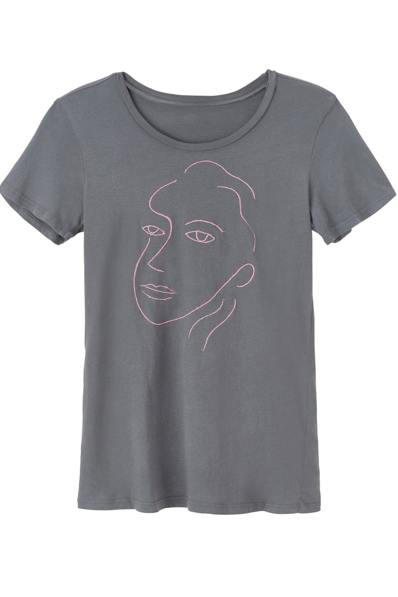 Relaxed gray t-shirt