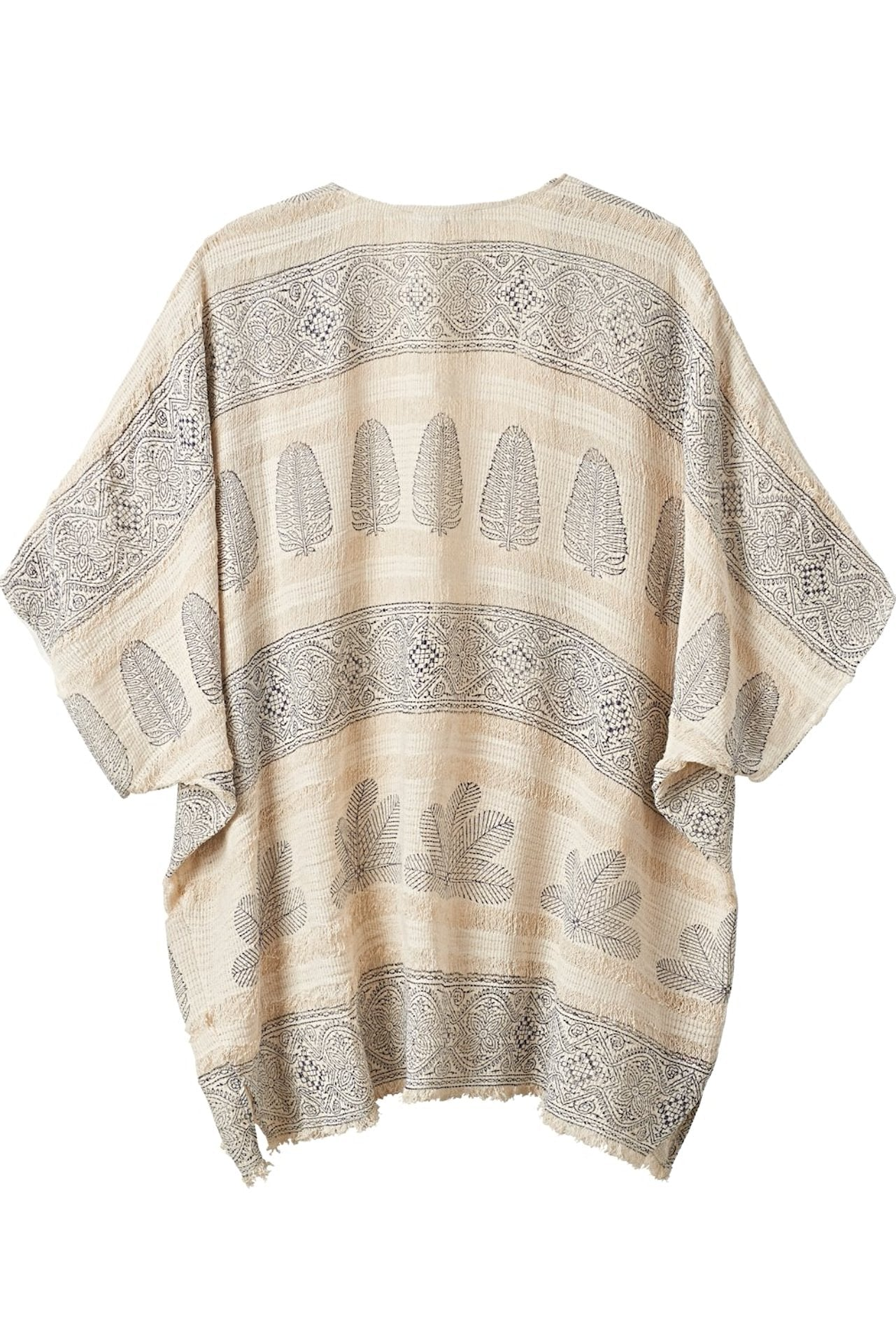 MARLENA Block Printed Top