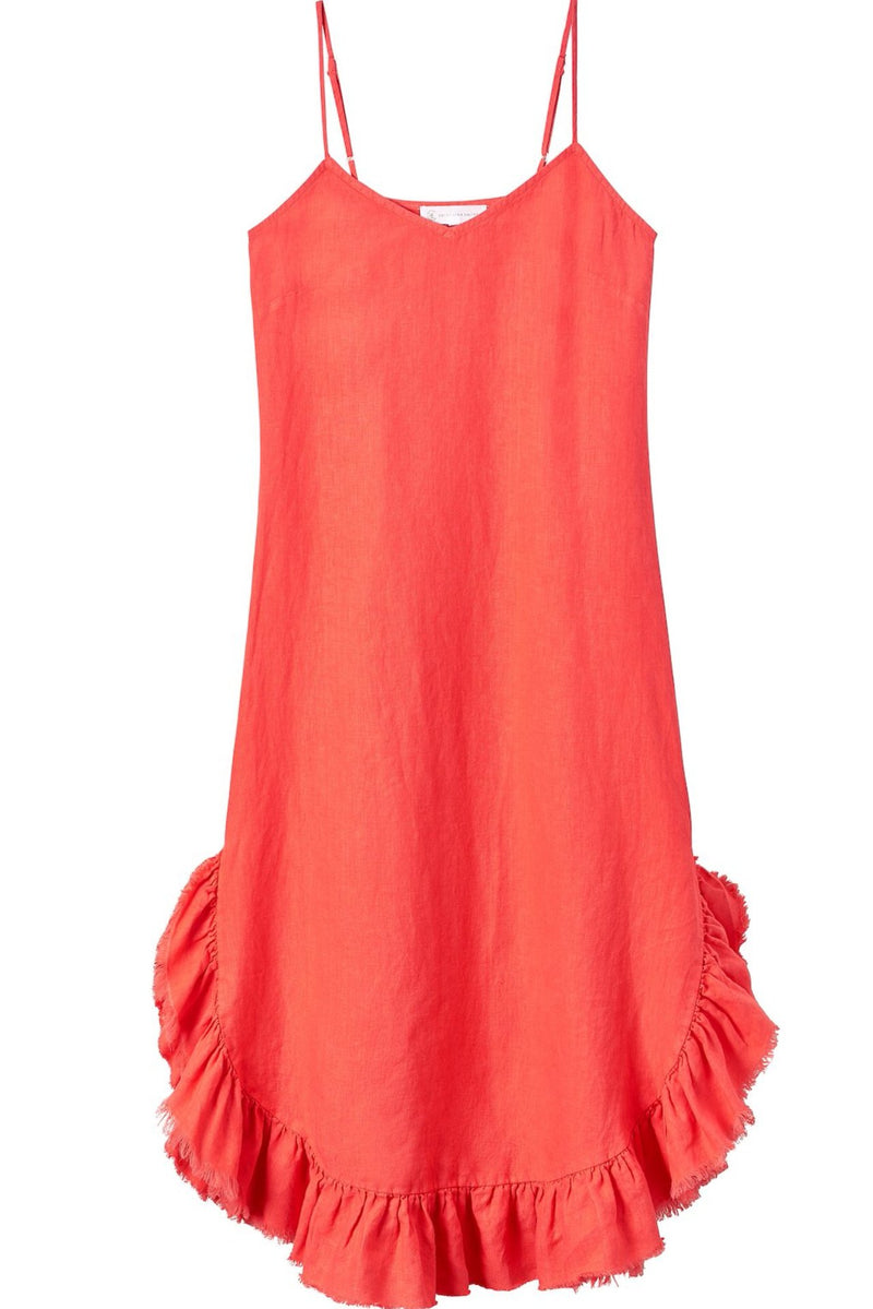Women's long slip dress