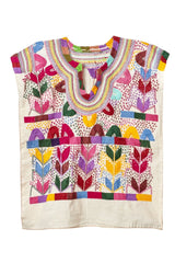 Handmade Embroidered Huipil Shirt