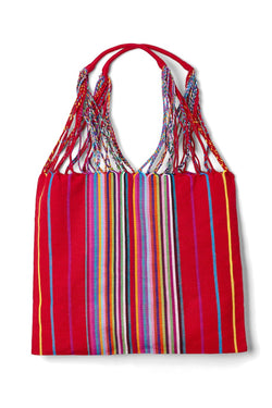 Mexican Woven Colorful Tote Bags