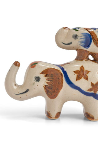 Tonalá Mexican Pottery Elephants