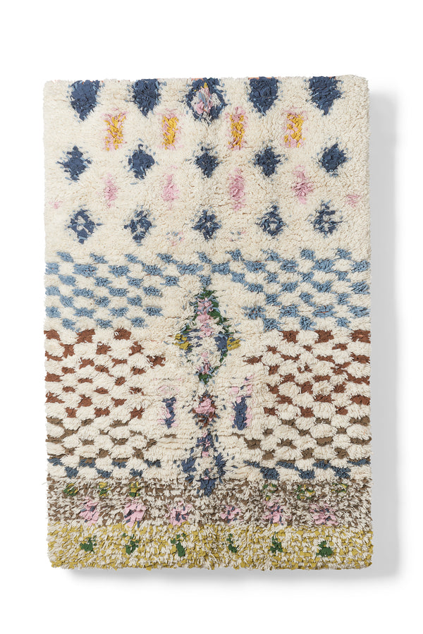 Mixed Pattern Area Rug