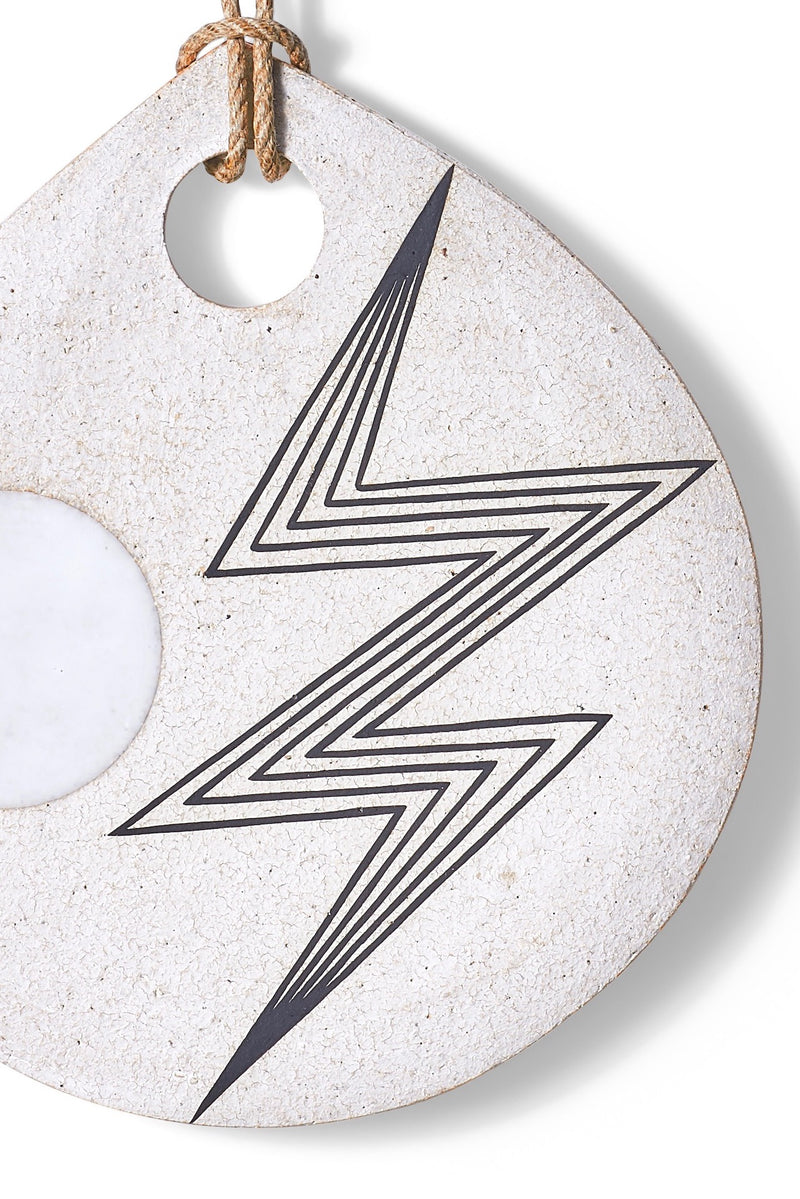 Lightning Teardrop Portal Wall Hanging