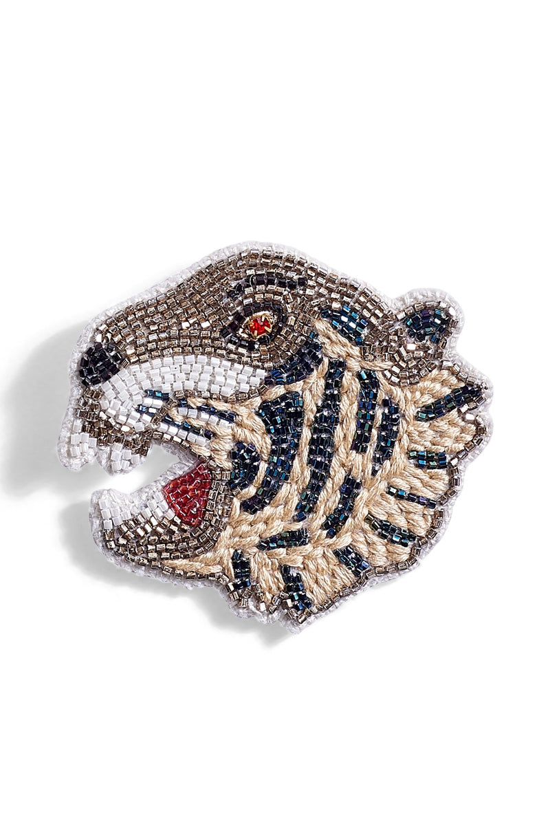 Beaded and Embroidered Broaches
