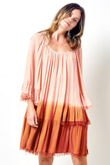Veronica Dip Dyed Prairie Dress