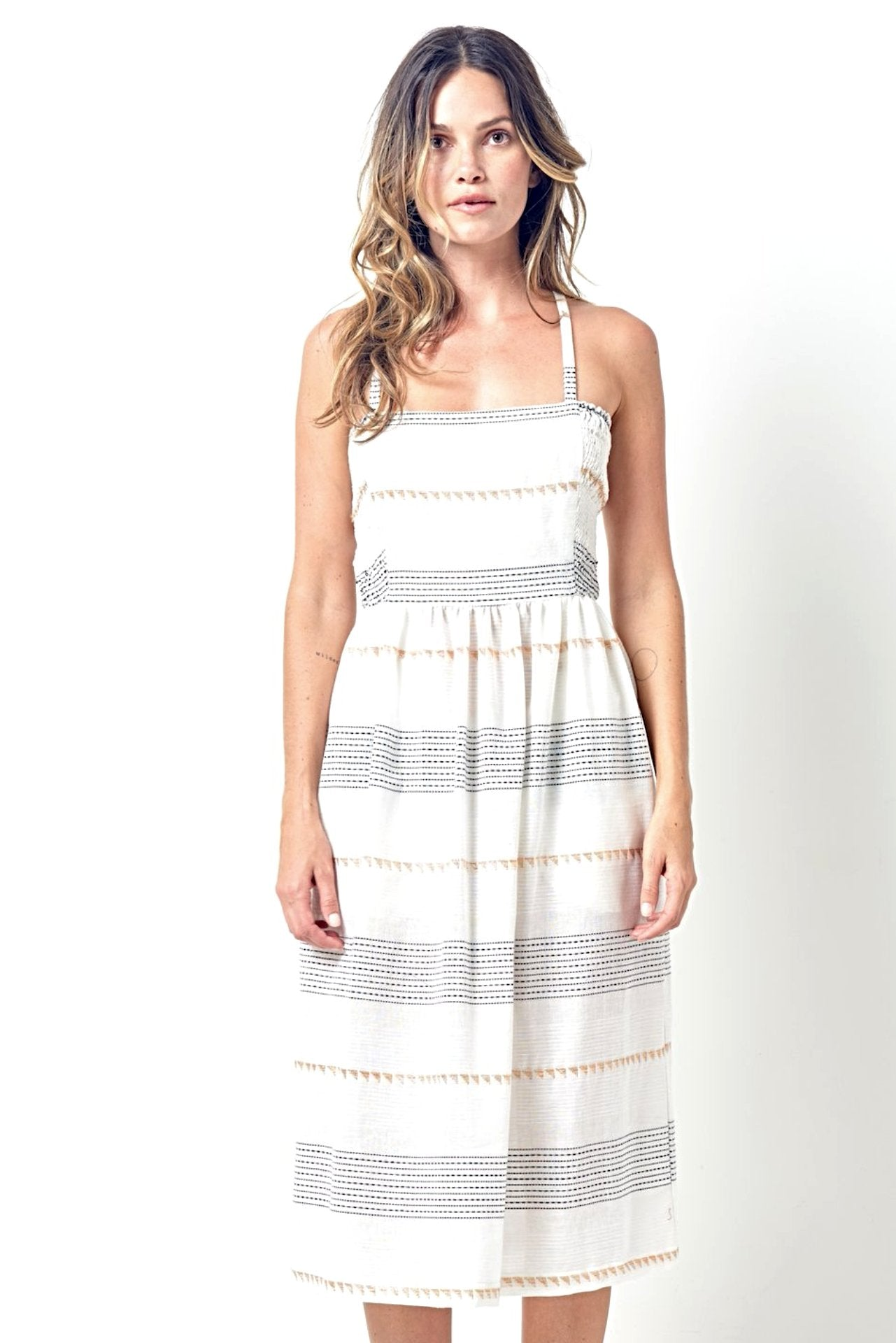 DANICA Sun Dress in Stripe