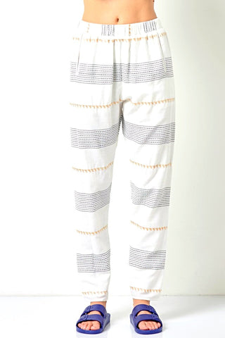 DARYL Jogger with Pockets-Stripe