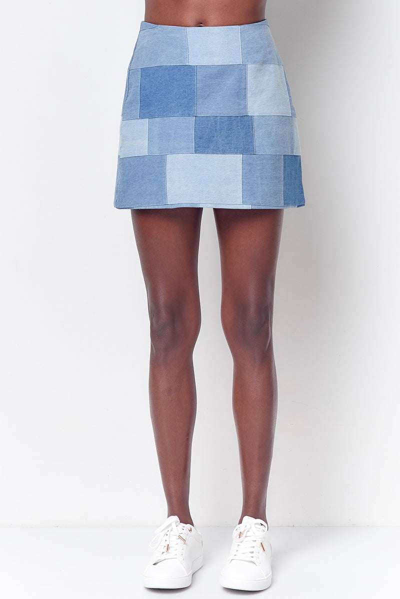 SYLVIE Mini Skirt - Patch