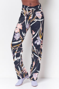 EVE Side Stripe Pant - Floral