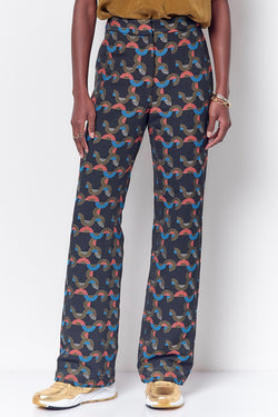 LOULOU High Waisted Trouser - Geo