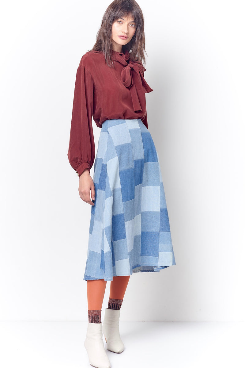 LINDA Aline Skirt - Patch