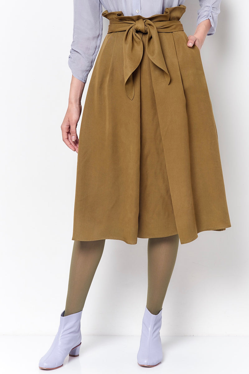 CARMEN Paper bag Waist Skirt
