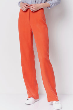 LOULOU High Waisted Trouser - Twill