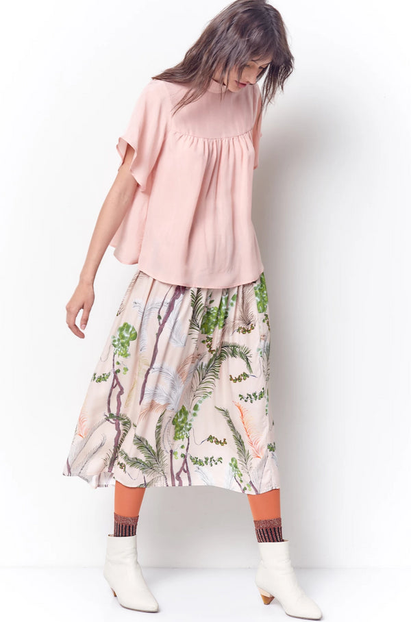 CHRISTINA Dirndl Skirt - Trees