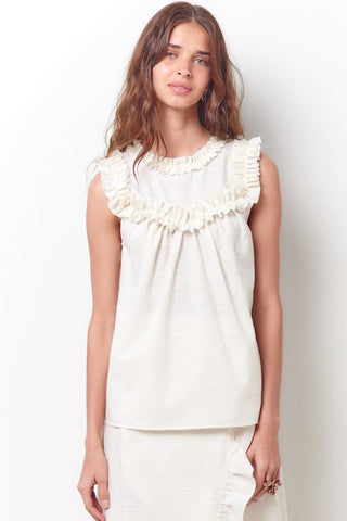 ARIANNA Short Sleeve Top-Jaq
