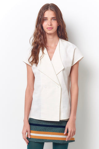 FAY Portrait of a Lady Sleeveless Tee