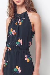 TALEEN Halter Style Dress- Floral