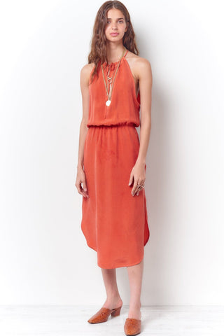LAUREL Layered Ruffle Slip Dress -Dyed