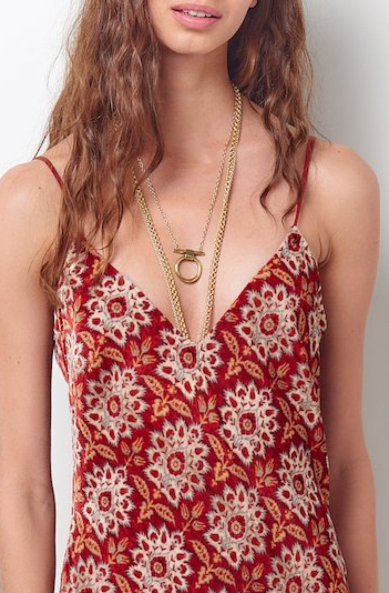 Paisley Tank Top Dress