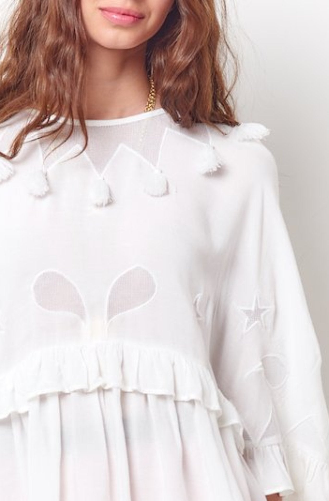 Women's oversized blouse