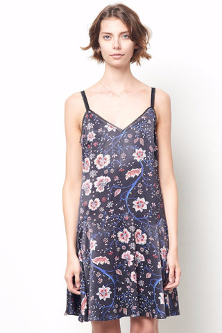 COURTNEY Drop Waist Slip Dress