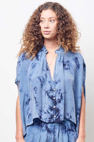 PATTY Button down Shirt in Cloud Wash