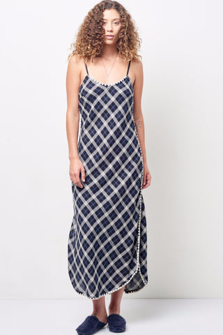 ZOLA dress in Boarder Triangle Print