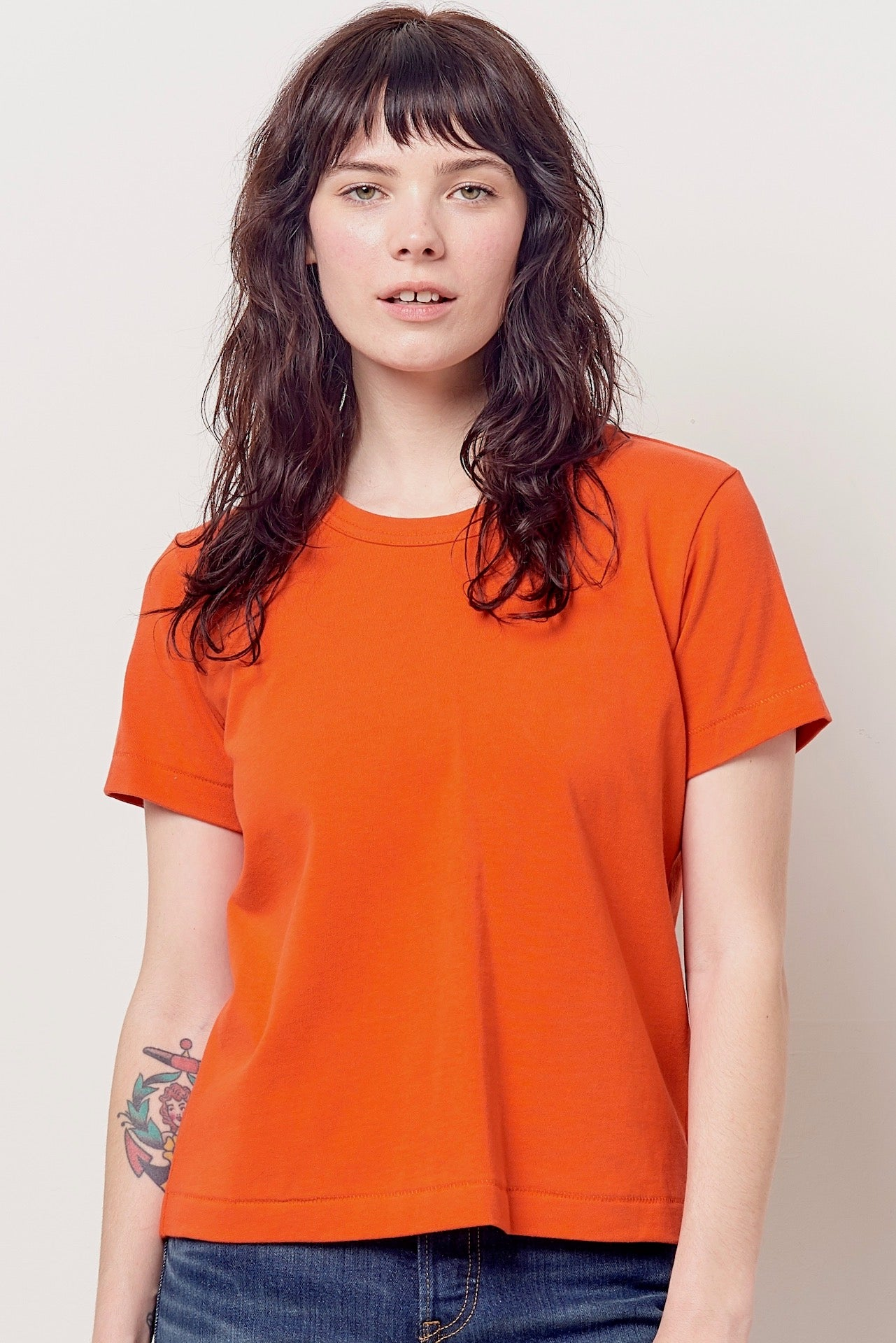 MOLLY Crew Tee- Jersey