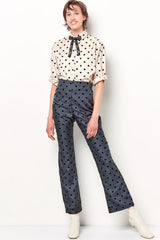 CATRIONA Button Down Shirt - Dot