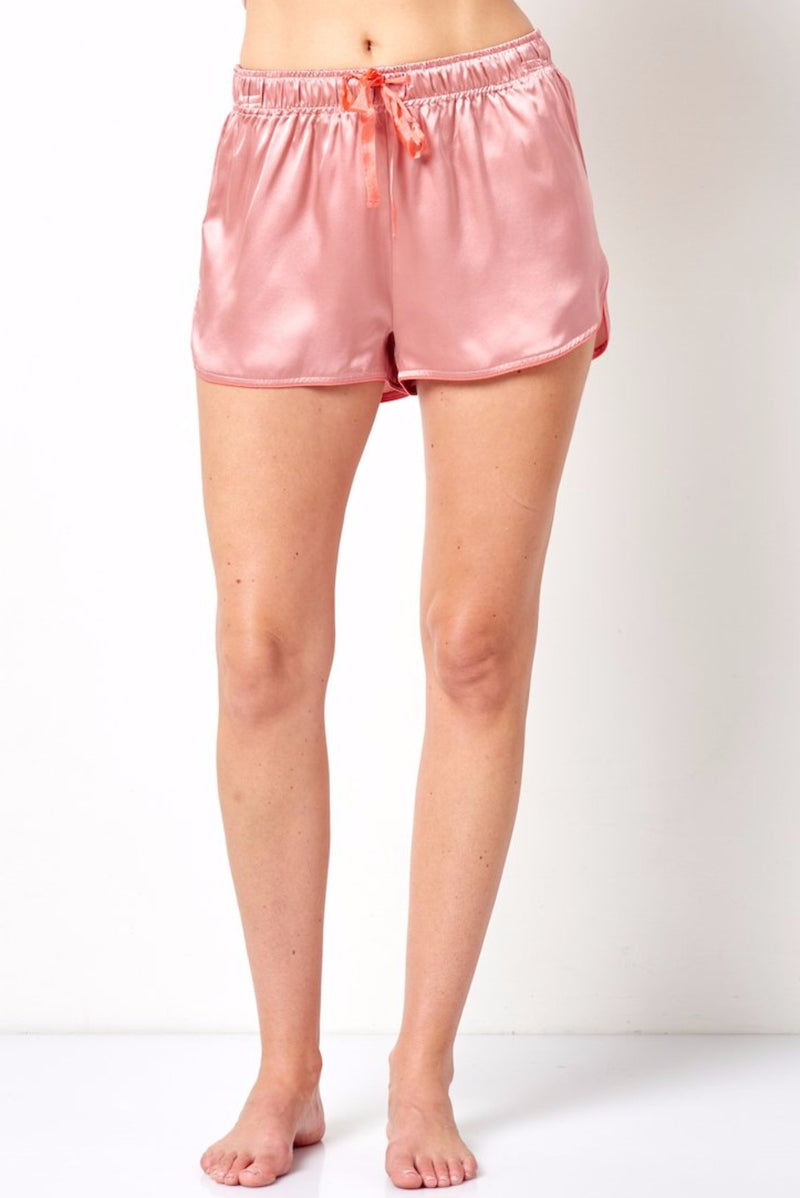 EMMA Silk Gym Short with PJ Styling