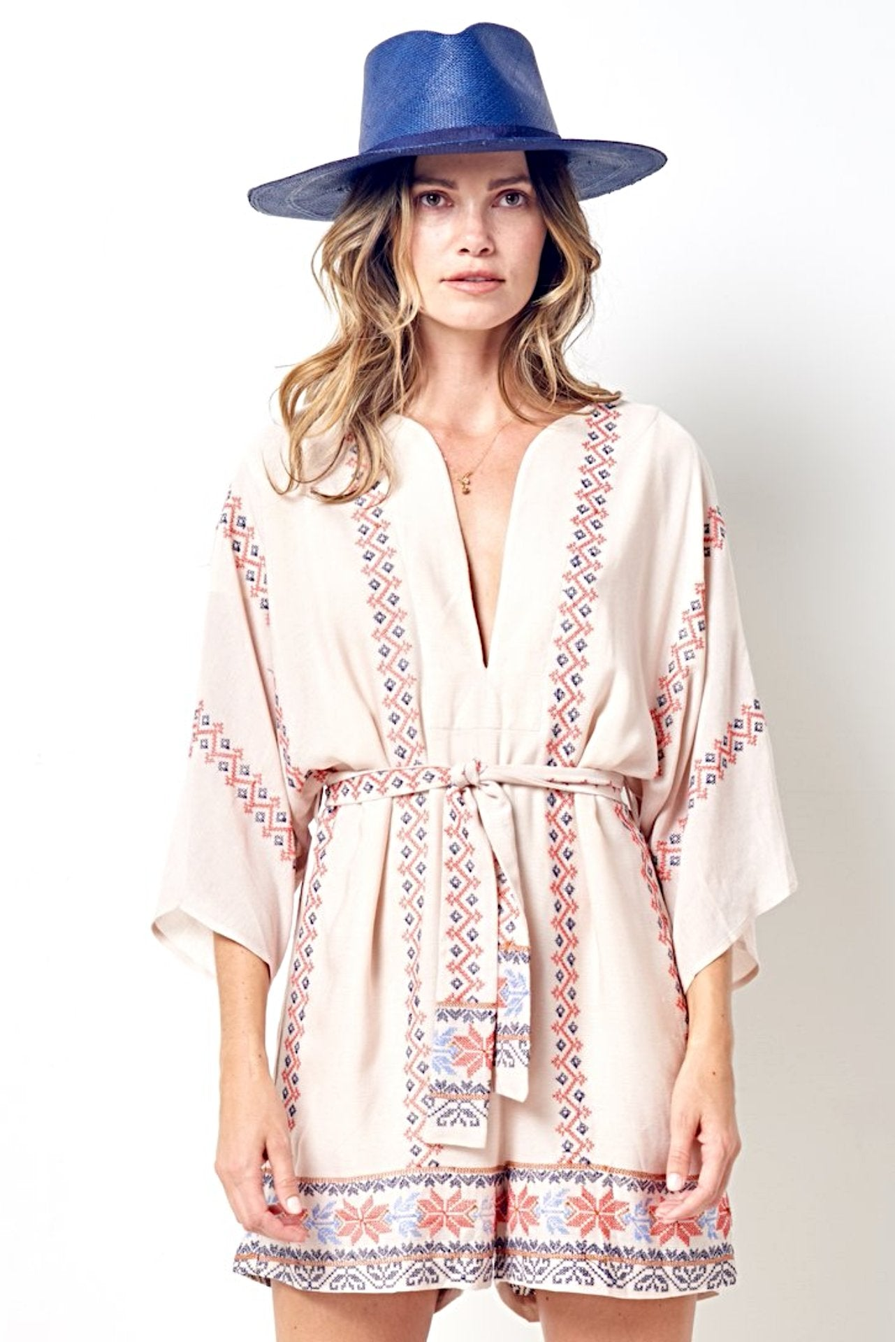 REEVA Embroidered Romper