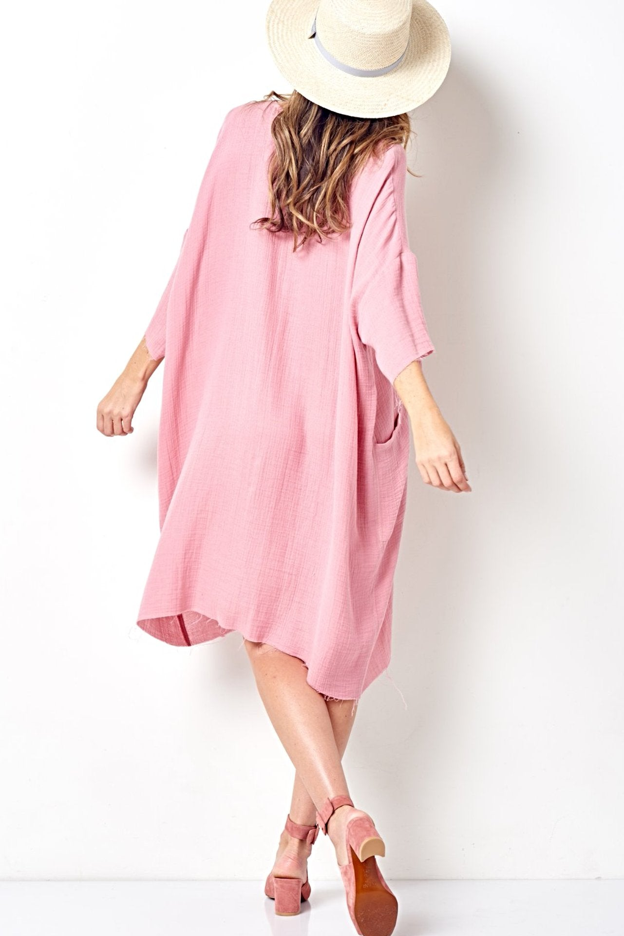 SELENA Relaxed Tee Style Dress