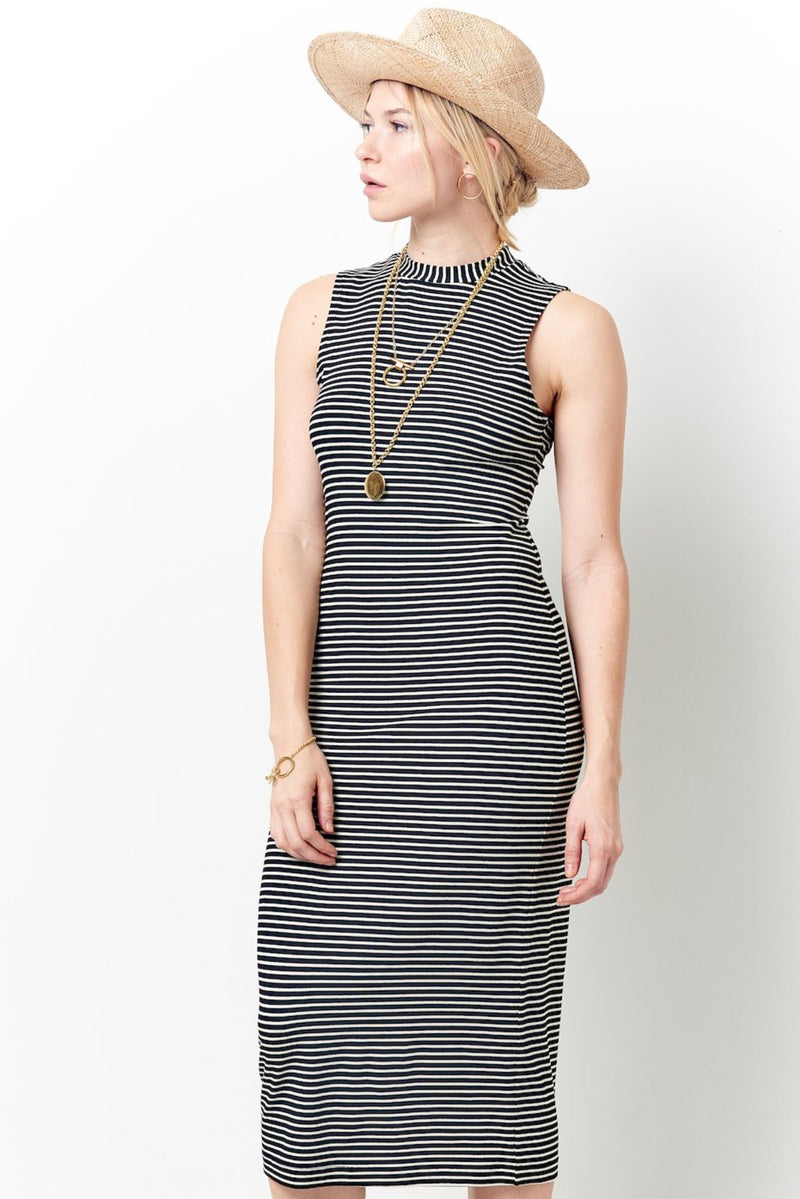 Cute stripped dresses for women