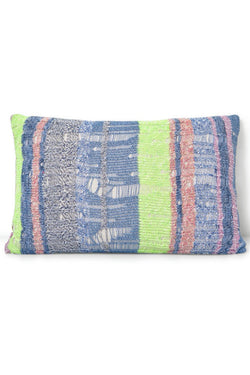 Drop Stitch Knitted Rectangle Pillow