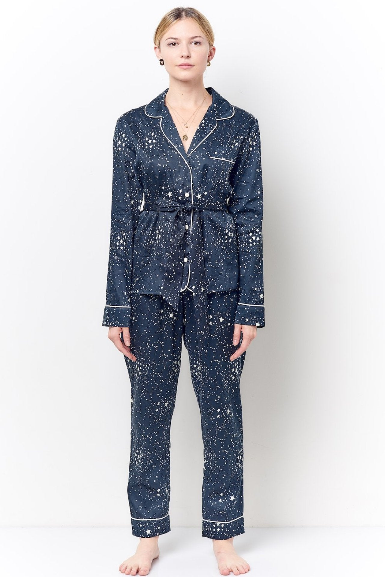SIENNA Cocktail L/S Pajama Set - Star