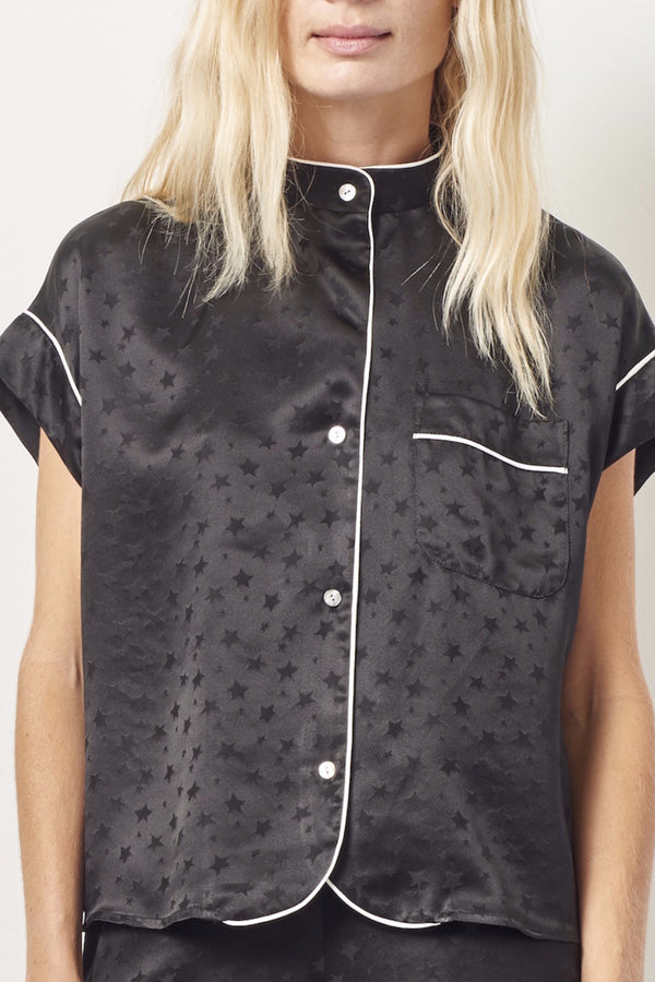 KACEY Silk short sleeve tap set BLACK STAR
