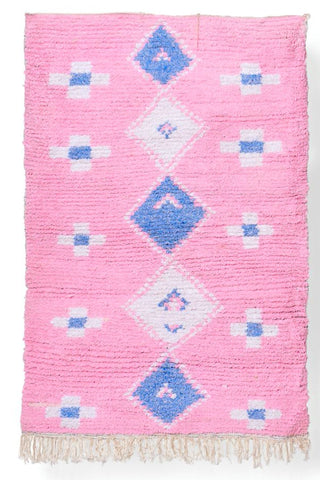 Antique African indigo textile