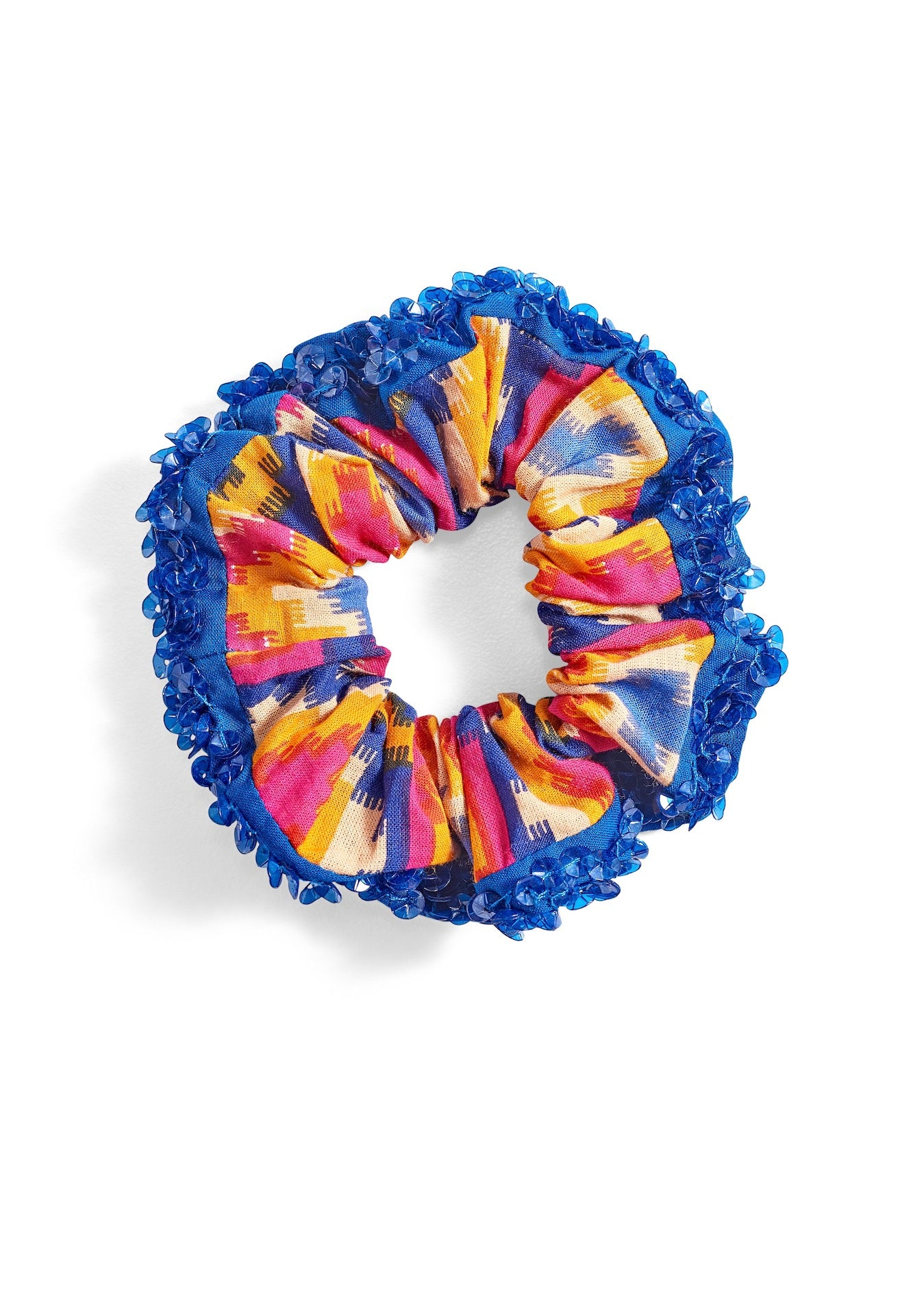 Sequined Hair Scrunchie