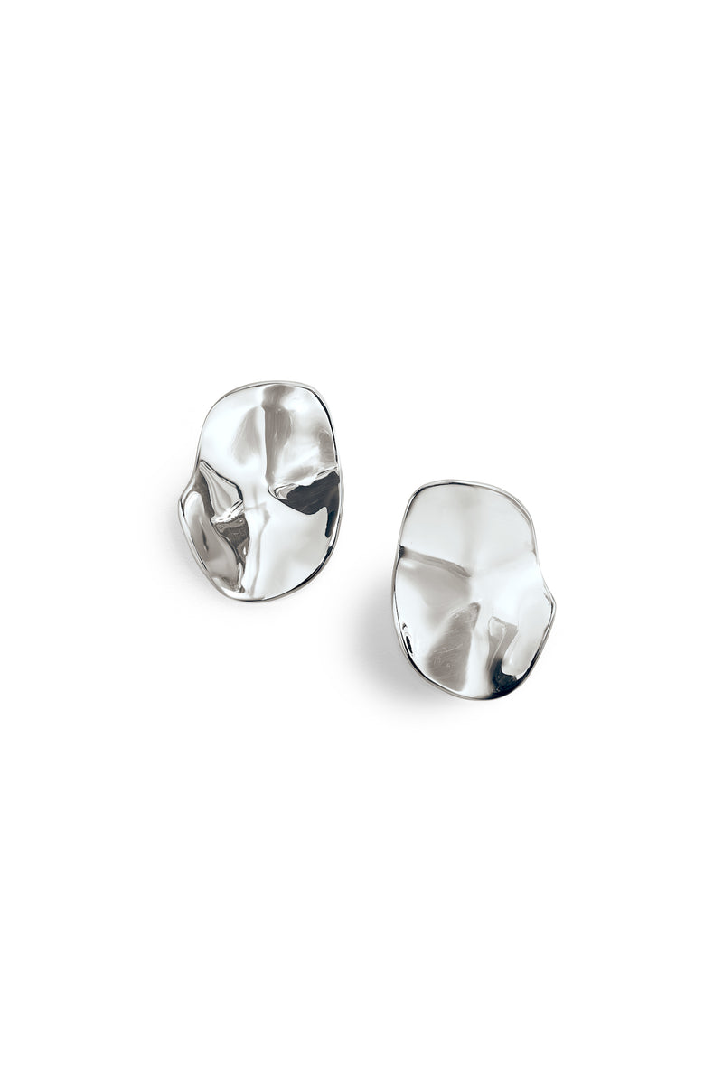 Irregular Disc Lantana Earrings