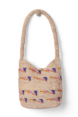 Raffia Bucket Bag