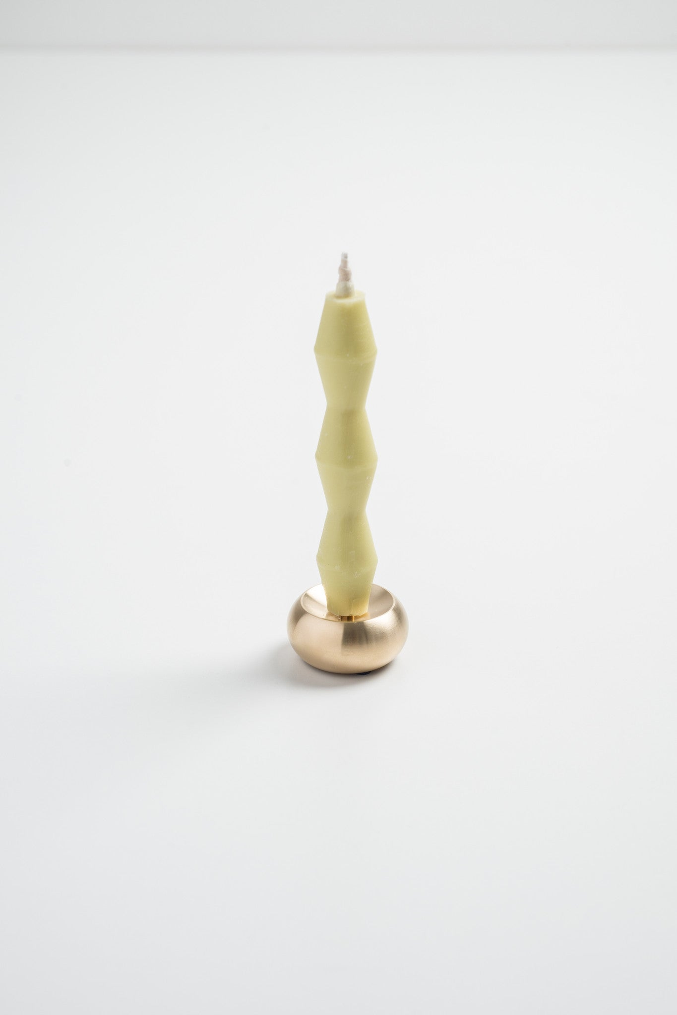 CANDLE holder solid BRASS by NOUSAKU