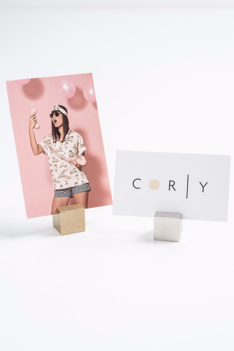 CUBIC card/photo holder