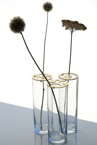 Wild Flower Holder and Vases- 3 Shapes