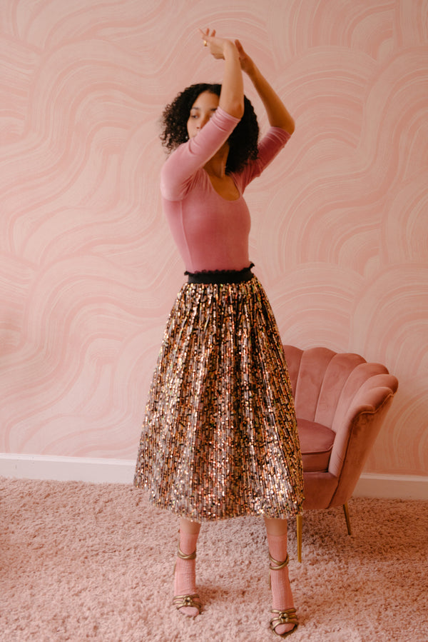 CHRISTINA Skirt - Sequin