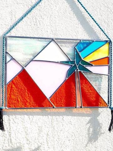 Technicolor Desert Stained Glass