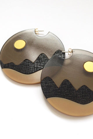 Summit Night Large Earrings