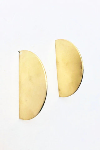 FAN Earring Jackets in Terra Cotta