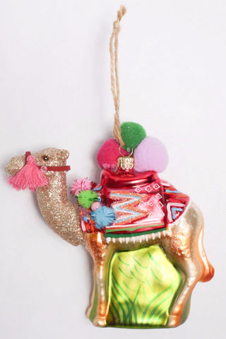 Fancy Camel Ornament