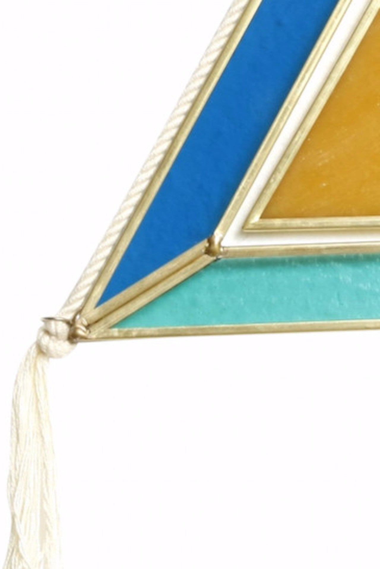 Double Triangle Stained Glass